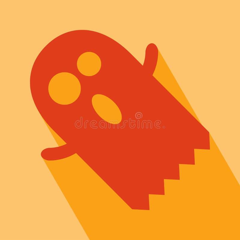 Значок призрака иллюстрация штока