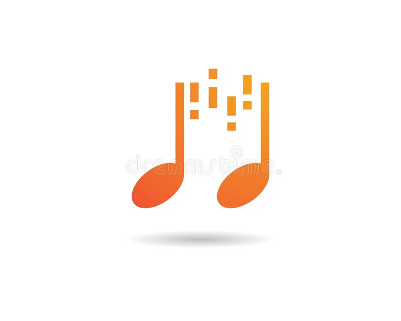Значок примечания музыки бесплатная иллюстрация