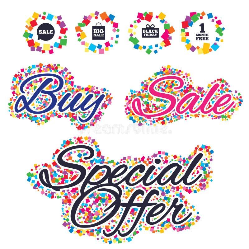 Download Значок пузыря речи продажи Черный символ пятницы Иллюстрация вектора - иллюстрации насчитывающей цена, badged: 81805484