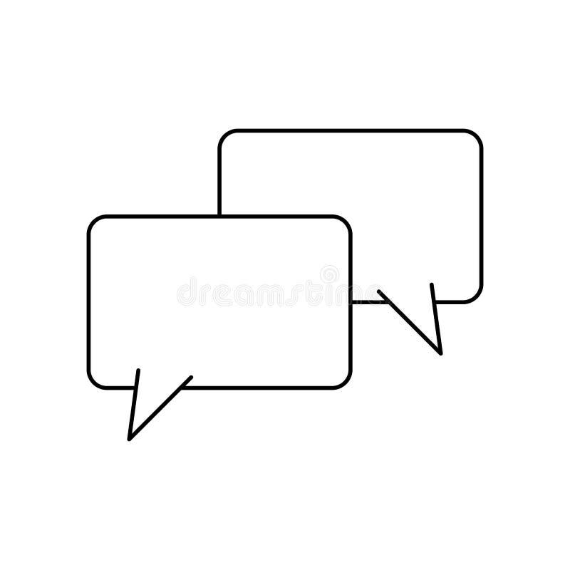 Значок пузыря речи бесплатная иллюстрация