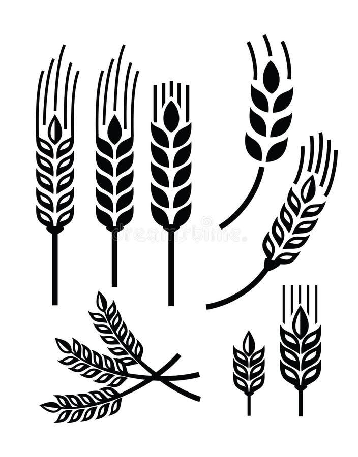 Значок пшеницы бесплатная иллюстрация
