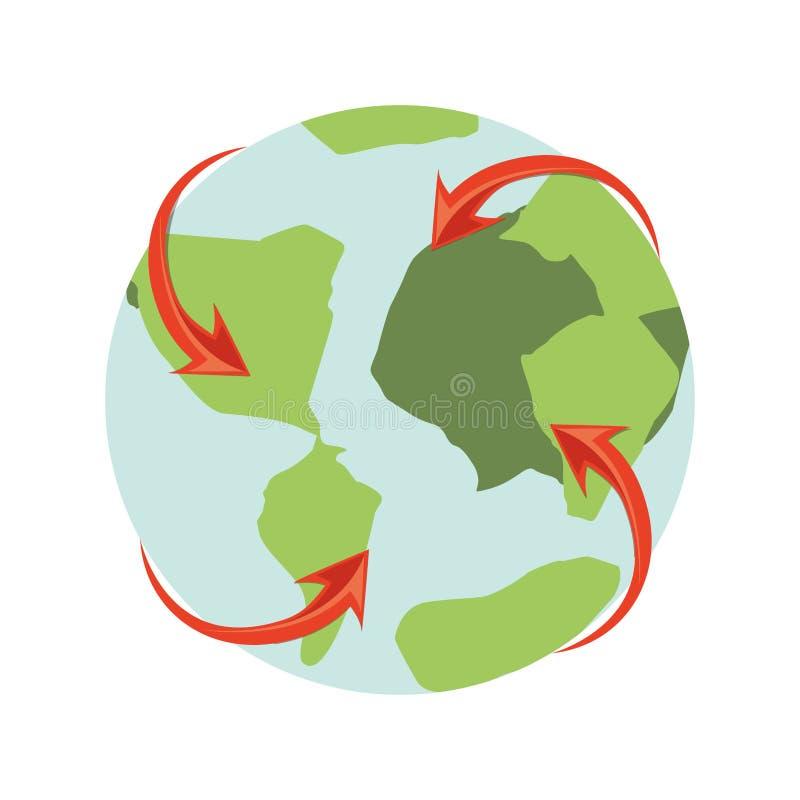 Значок планеты земли бесплатная иллюстрация