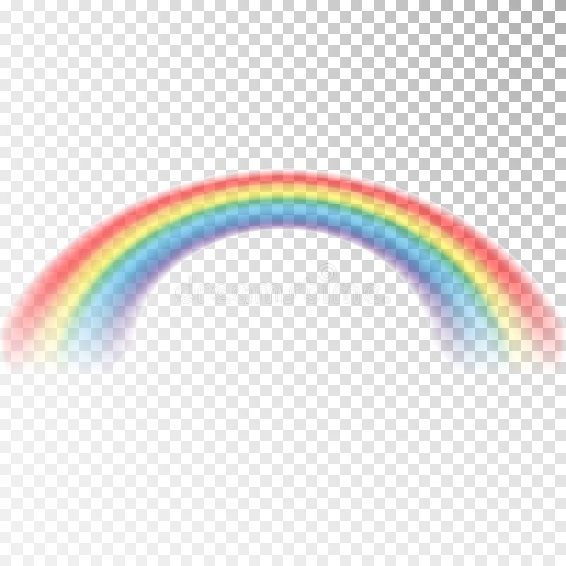 Значок радуги Красочный свет и яркий элемент дизайна для декоративной Абстрактное изображение радуги Иллюстрация вектора изолиров бесплатная иллюстрация