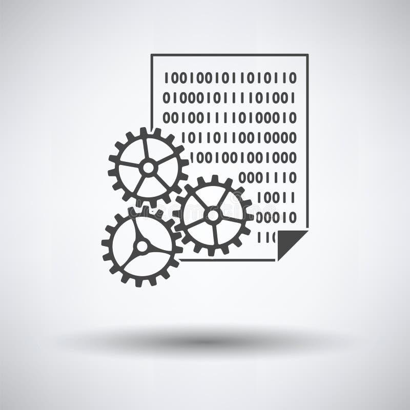 Значок развития приложения иллюстрация вектора