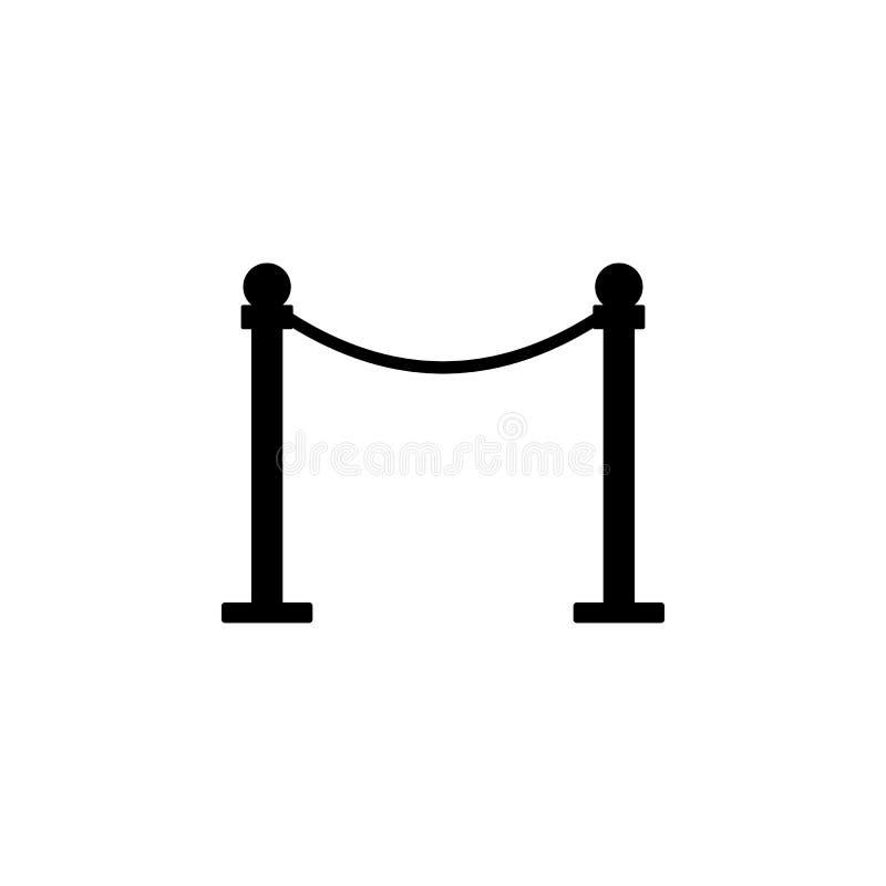 Значок рельсов предохранителя шкафа Элемент значка кино Наградной качественный значок графического дизайна Знаки и значок собрани бесплатная иллюстрация