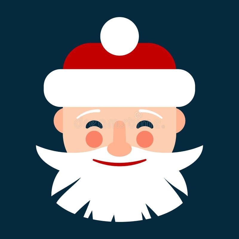 Значок рождества и Нового Года иллюстрация штока