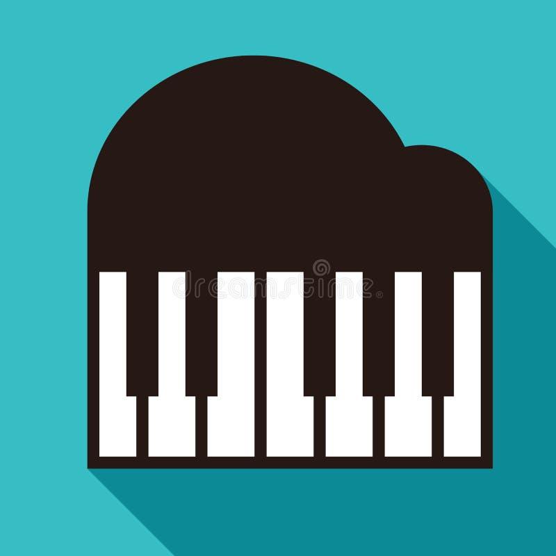 Значок рояля бесплатная иллюстрация