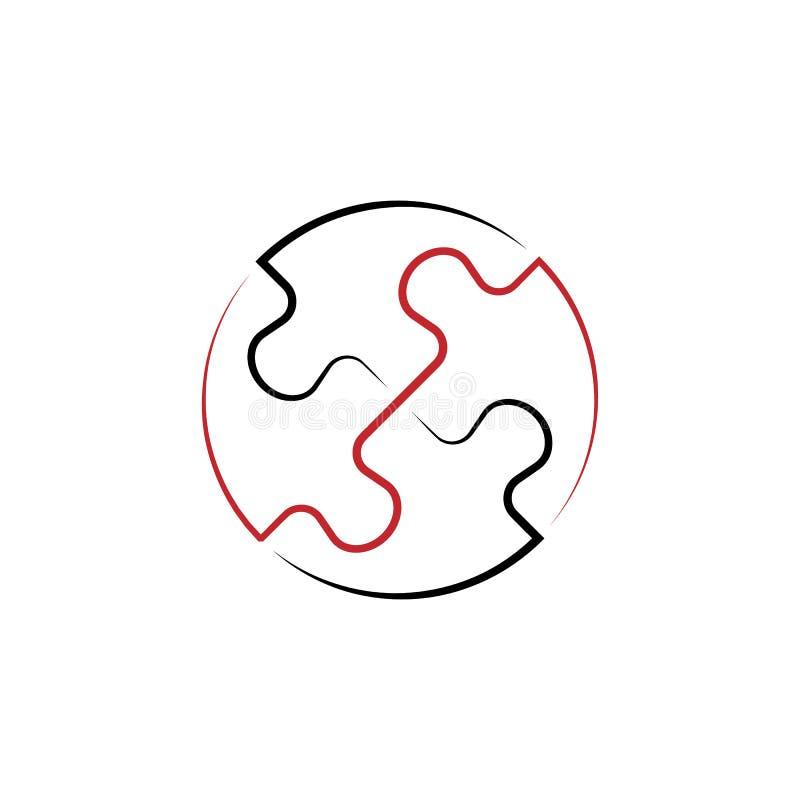 значок руки единства 2 покрашенный вычерченный Иллюстрация покрашенного элемента команды Дизайн символа плана от набора работы ко иллюстрация вектора