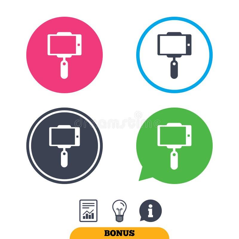 Download Значок ручки Selfie Monopod Автопортрет Иллюстрация вектора - иллюстрации насчитывающей рапорт, info: 81805566