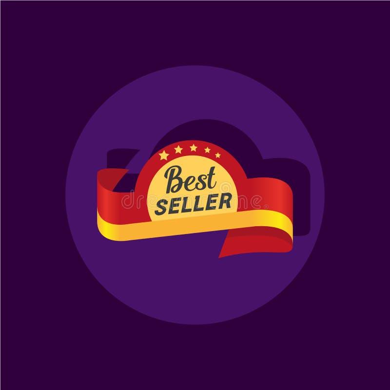 Значок самого лучшего продавца бесплатная иллюстрация