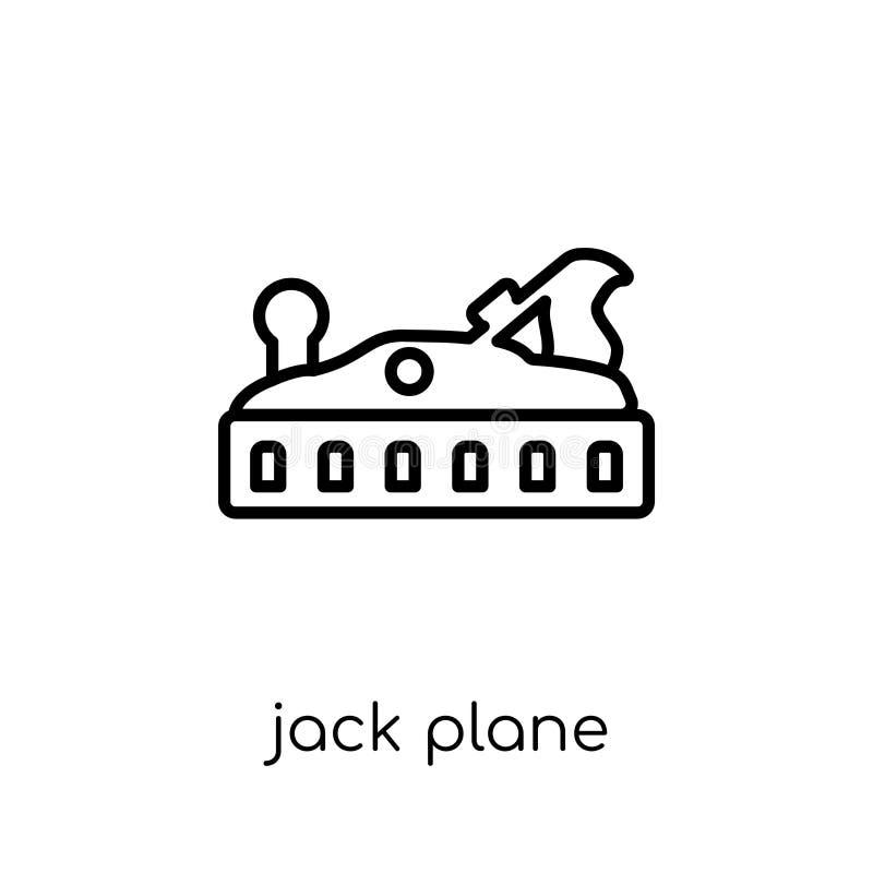 Значок самолета Джека  иллюстрация вектора