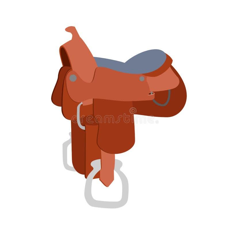 Значок седловины лошади бесплатная иллюстрация