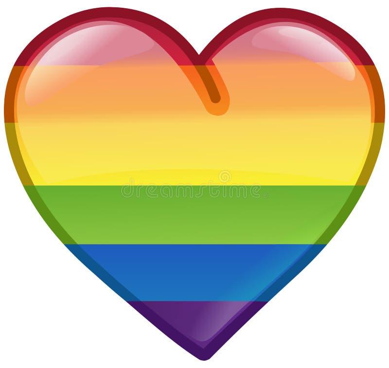 Значок сердца гордости бесплатная иллюстрация
