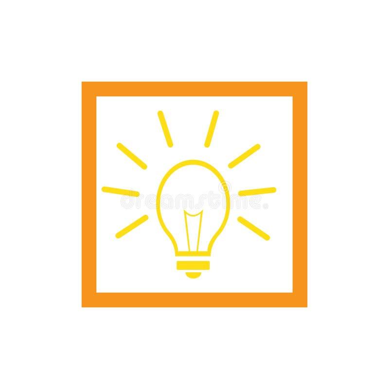 значок символа электрической лампочки бесплатная иллюстрация