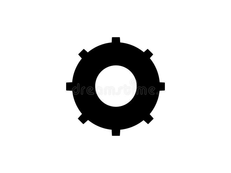 значок спасательного жилета Знак спасения жизни Пиктограмма искусства зажима кольца жизни иллюстрация вектора