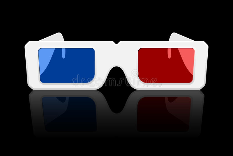 значок стекел 3D бесплатная иллюстрация