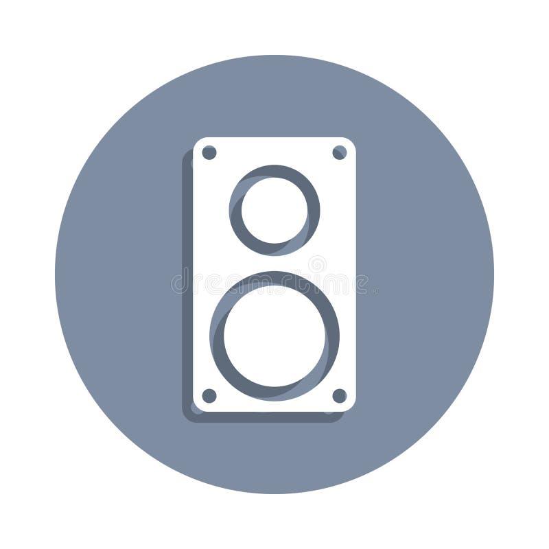 значок столбца музыки в стиле значка Одно значка собрания сети можно использовать для UI, UX иллюстрация вектора