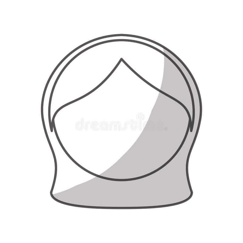 Download Значок стороны девушки иллюстрация вектора. иллюстрации насчитывающей естественно - 81801370