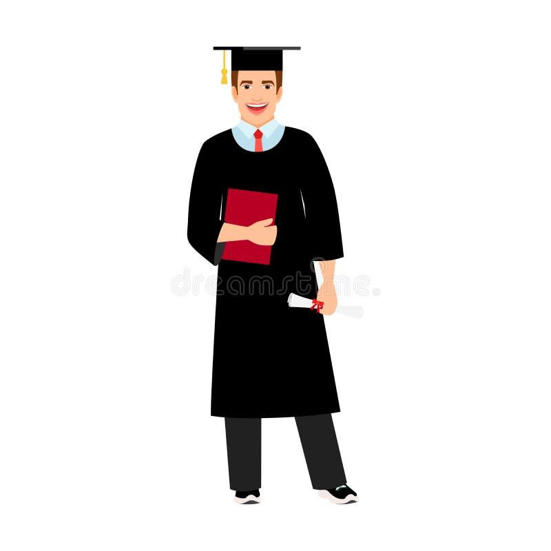Значок студент-выпускника студента университета бесплатная иллюстрация