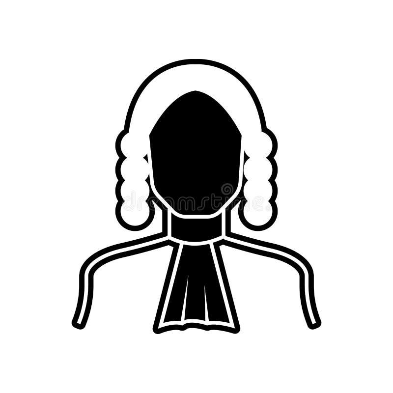 значок судьи Элемент Proffecions для мобильных концепции и значка приложений сети r бесплатная иллюстрация