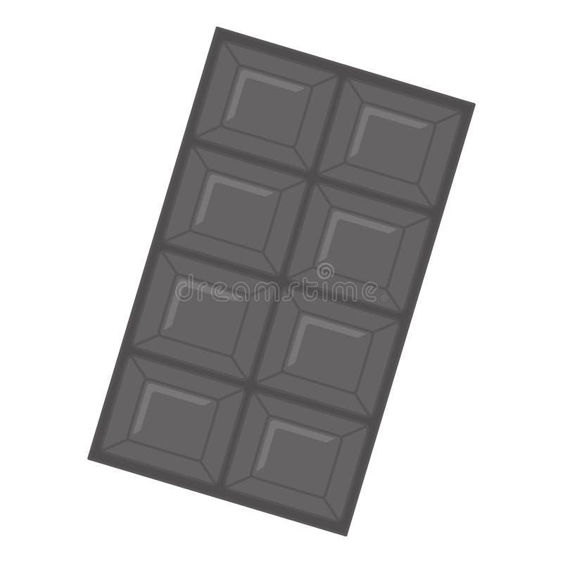 Download Значок сладостного шоколада Иллюстрация вектора - иллюстрации насчитывающей конфета, какао: 81802316