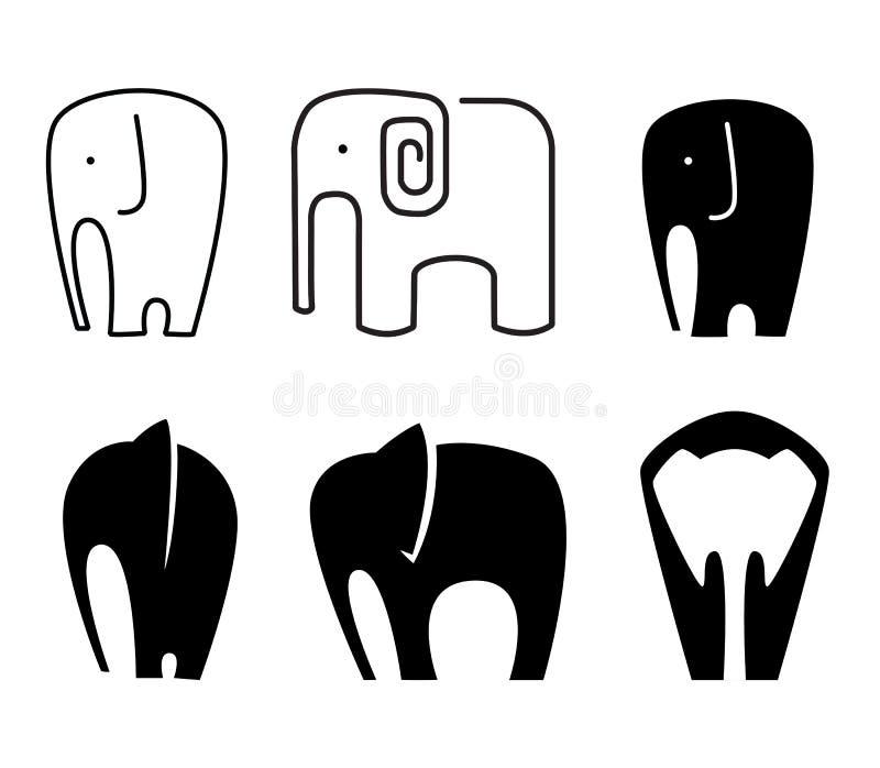 Значок слона бесплатная иллюстрация