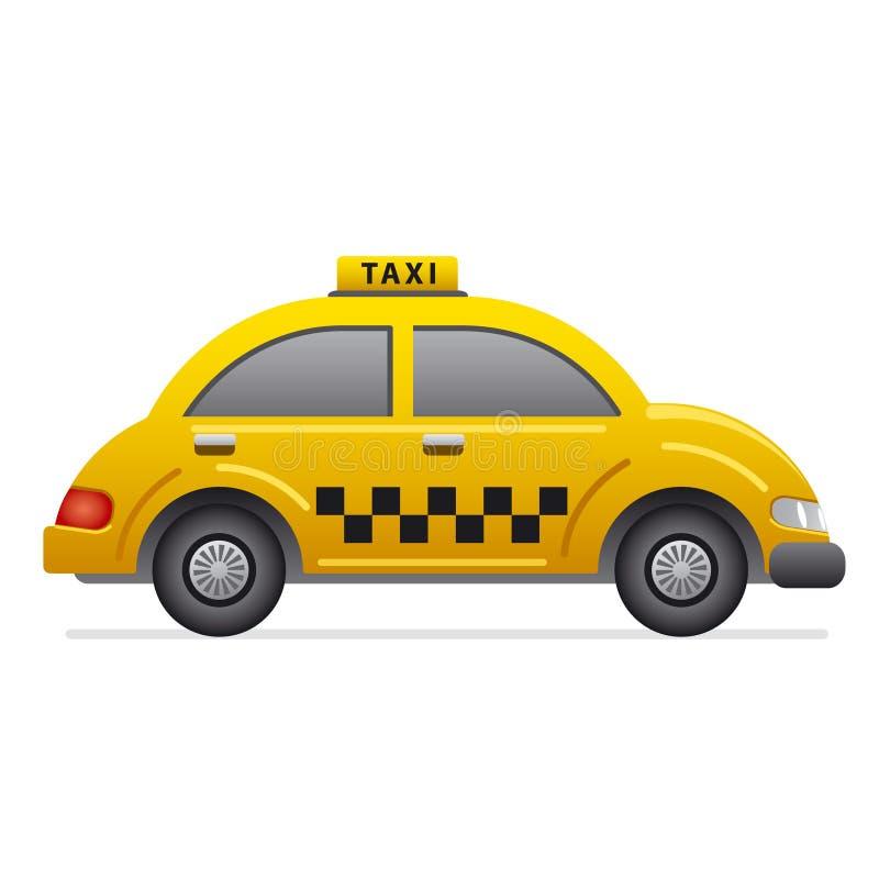 Значок такси иллюстрация штока
