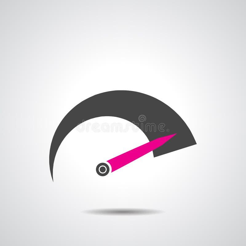 Значок тахометра бесплатная иллюстрация