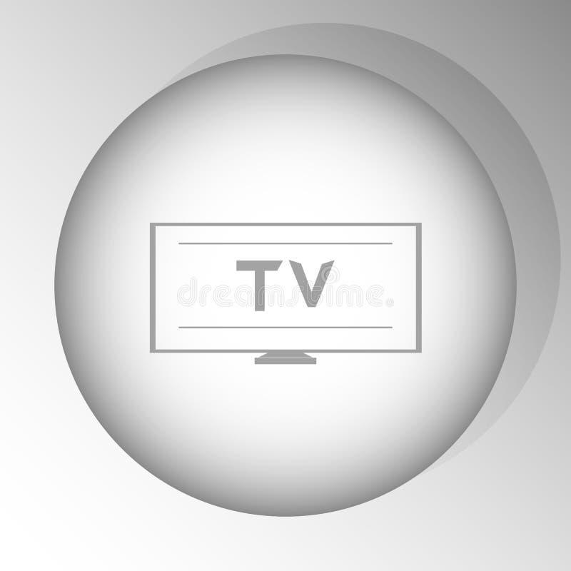 Значок ТВ бесплатная иллюстрация