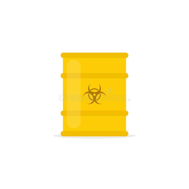 Значок токсичных отходов бесплатная иллюстрация