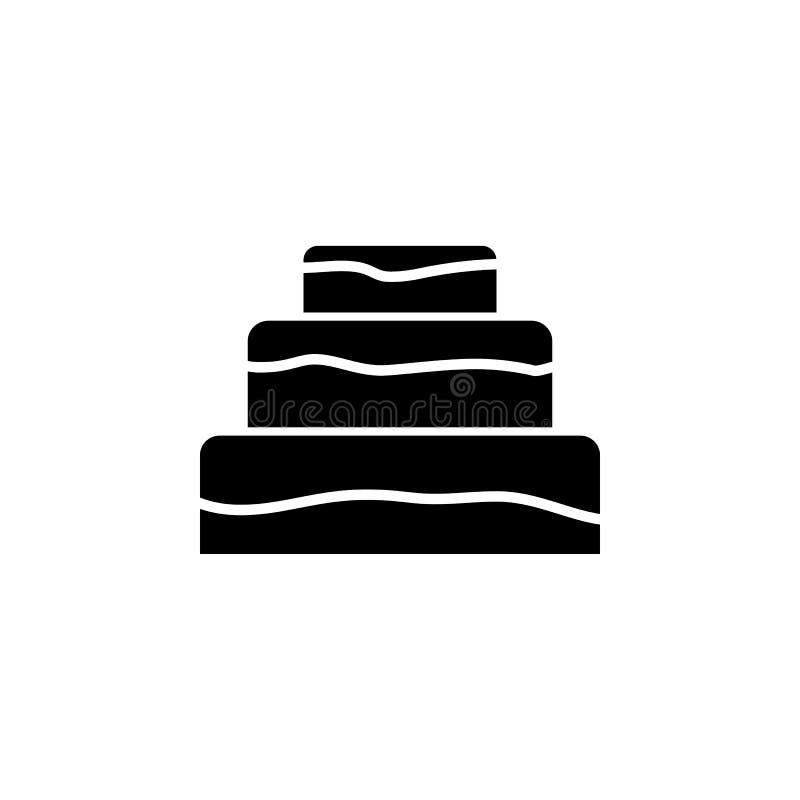Значок торта Элемент значка дня матерей Наградной качественный значок графического дизайна Знаки и значок для вебсайтов, сеть d с иллюстрация вектора