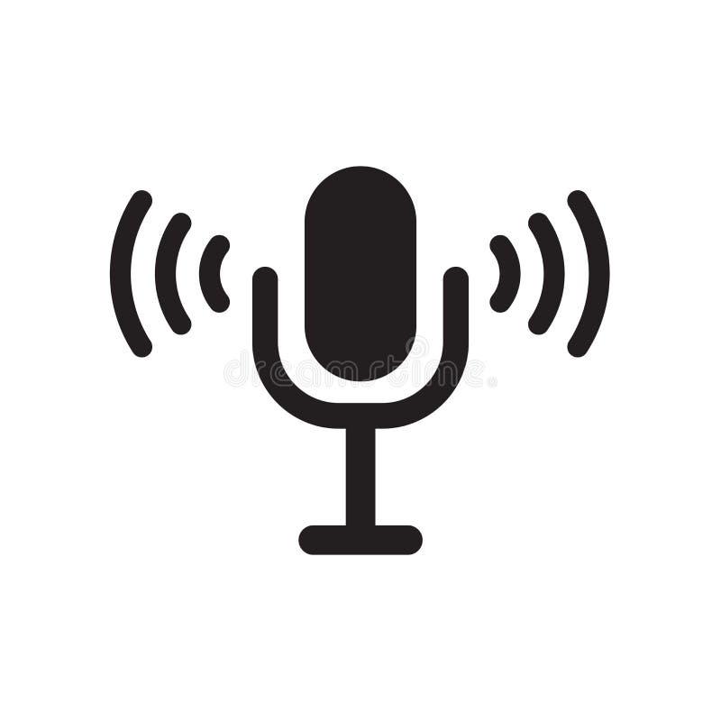 Значок управлением голоса  бесплатная иллюстрация