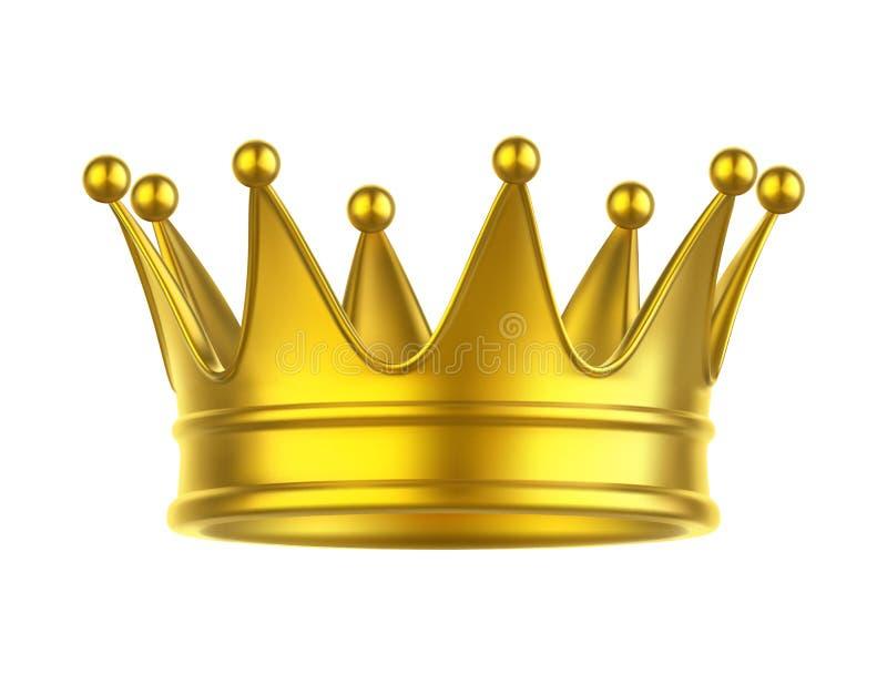 Значок ферзя или кроны короля, принцессы или принца иллюстрация вектора