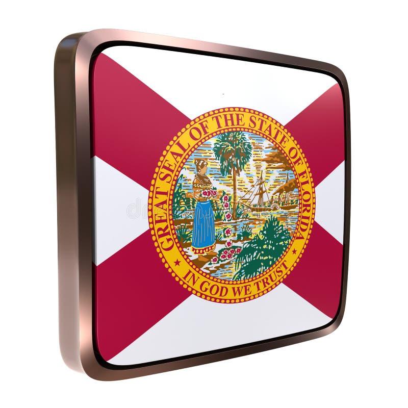 Значок флага Флориды иллюстрация вектора