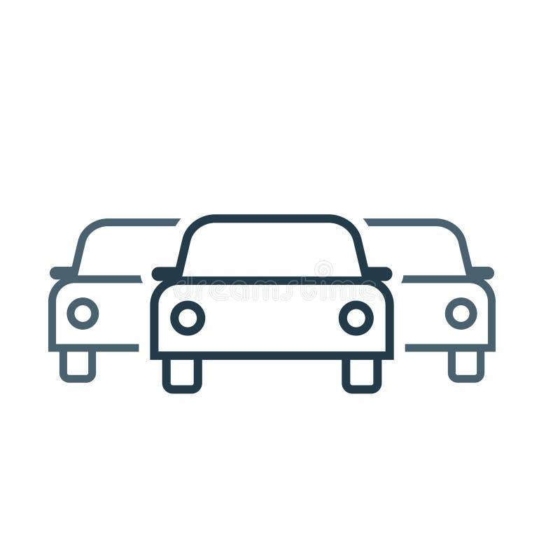 Значок флота автомобиля бесплатная иллюстрация