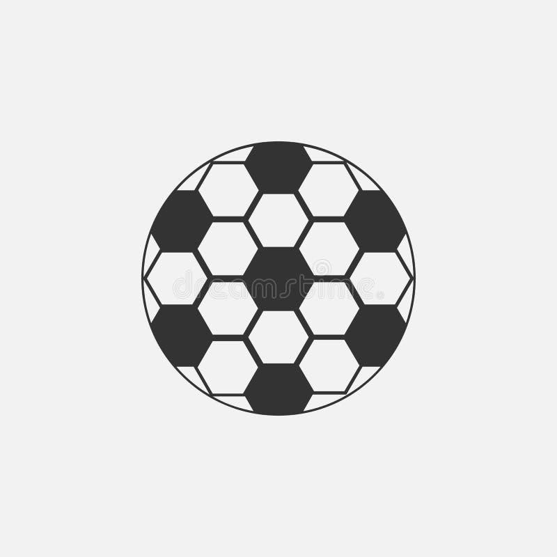 Значок футбола, футбол, спорт, лига иллюстрация штока