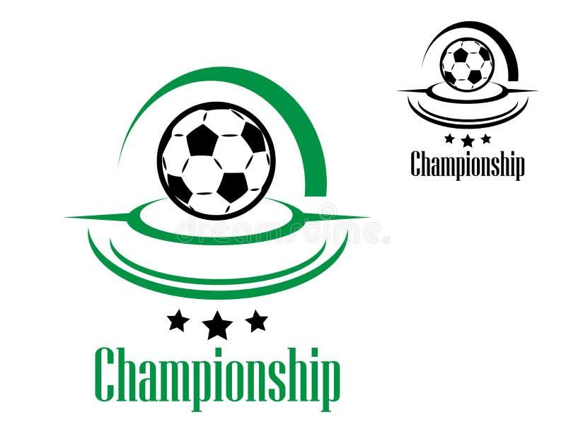 Download Значок футбола или футбола иллюстрация вектора. иллюстрации насчитывающей элемент - 40587457