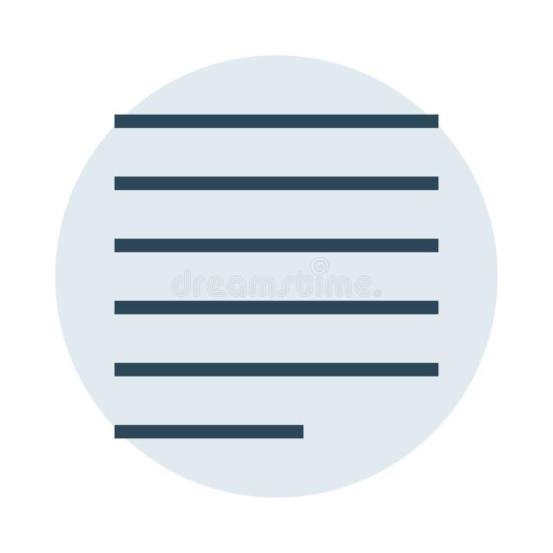 Значок цветного барьера выравнивания иллюстрация вектора