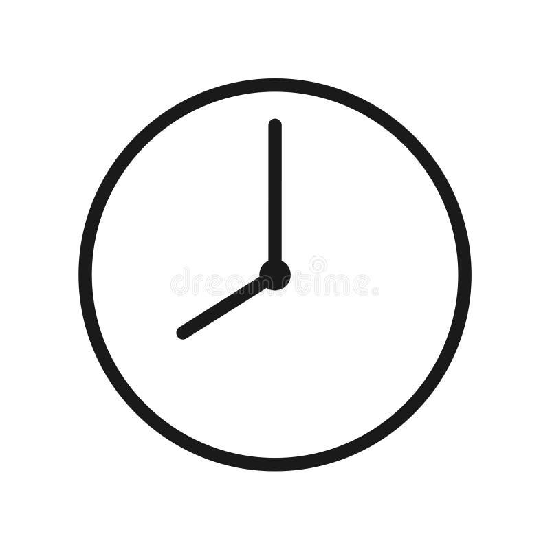 Значок часов бесплатная иллюстрация