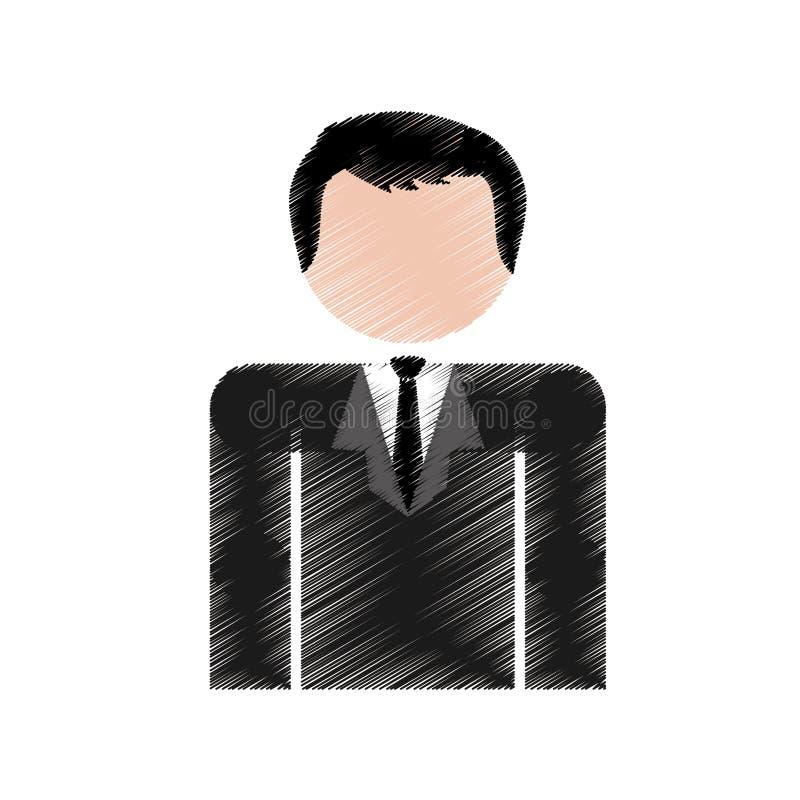 Download Значок человека шаржа иллюстрация вектора. иллюстрации насчитывающей мужчина - 81802046