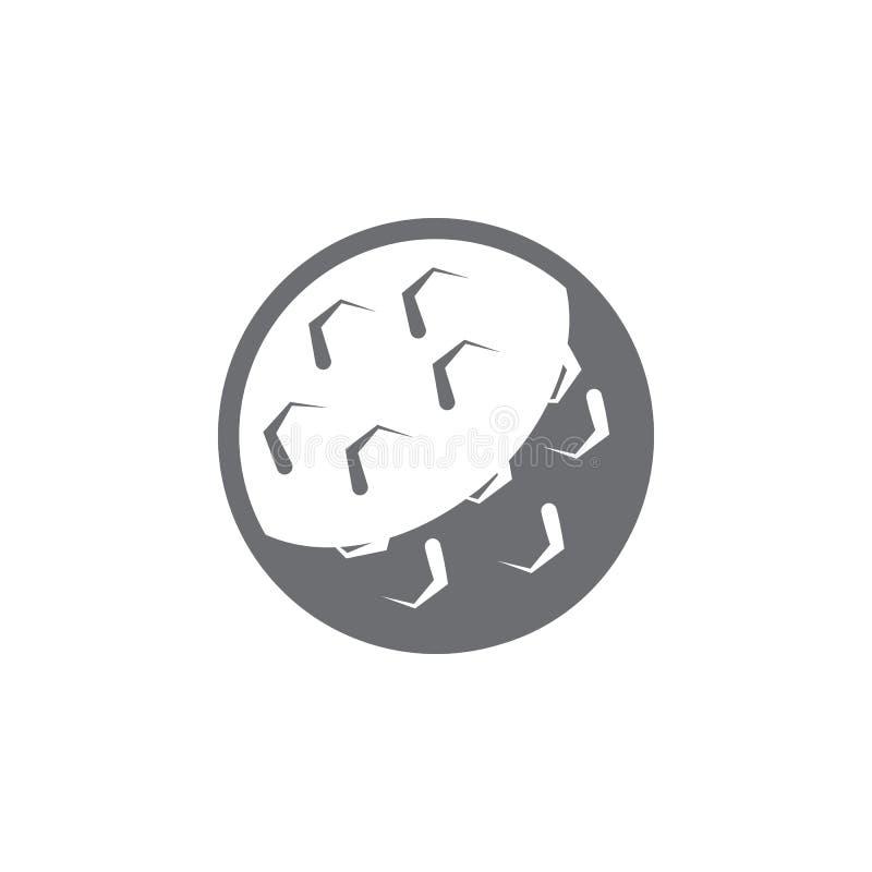Значок шара для игры в гольф Простая иллюстрация элемента шаблон дизайна символа шара для игры в гольф Смогите быть использовано  бесплатная иллюстрация