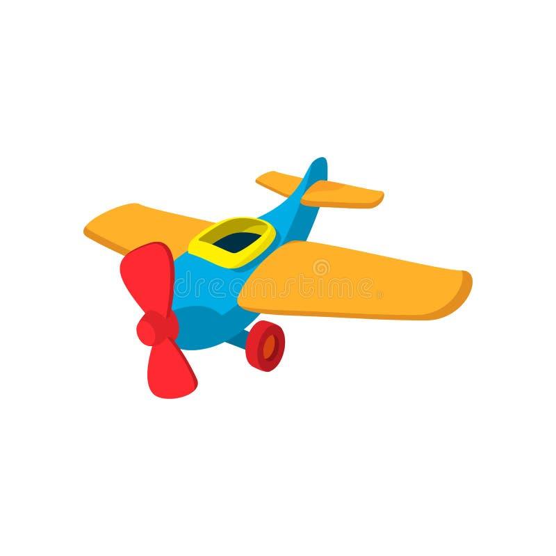 Значок шаржа игрушки плоский бесплатная иллюстрация