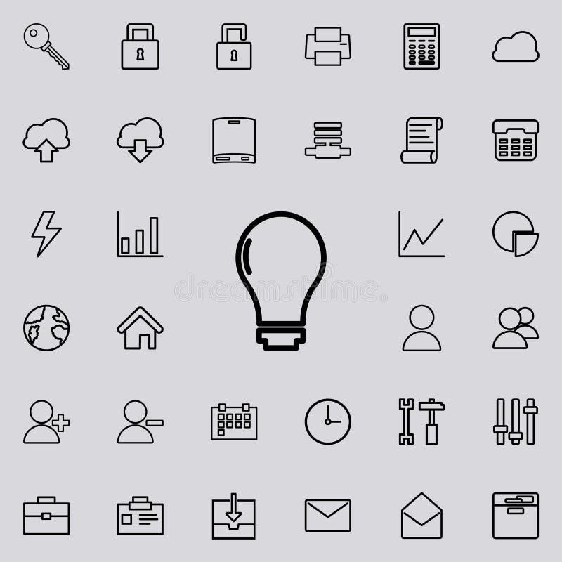 Значок шарика Детальный комплект minimalistic значков Наградной графический дизайн Один из значков собрания для вебсайтов, веб-ди бесплатная иллюстрация