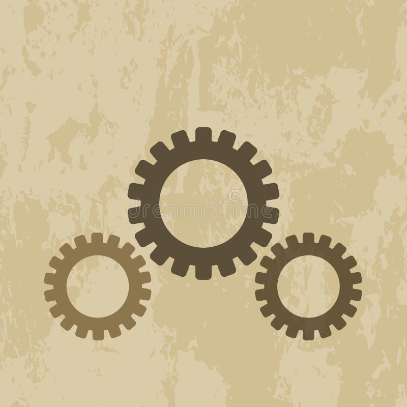 Значок шестерни бесплатная иллюстрация