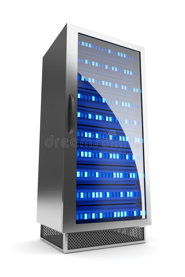 Значок шкафа сервера бесплатная иллюстрация
