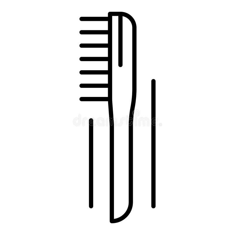 Значок щетки сварщика, стиль плана иллюстрация вектора