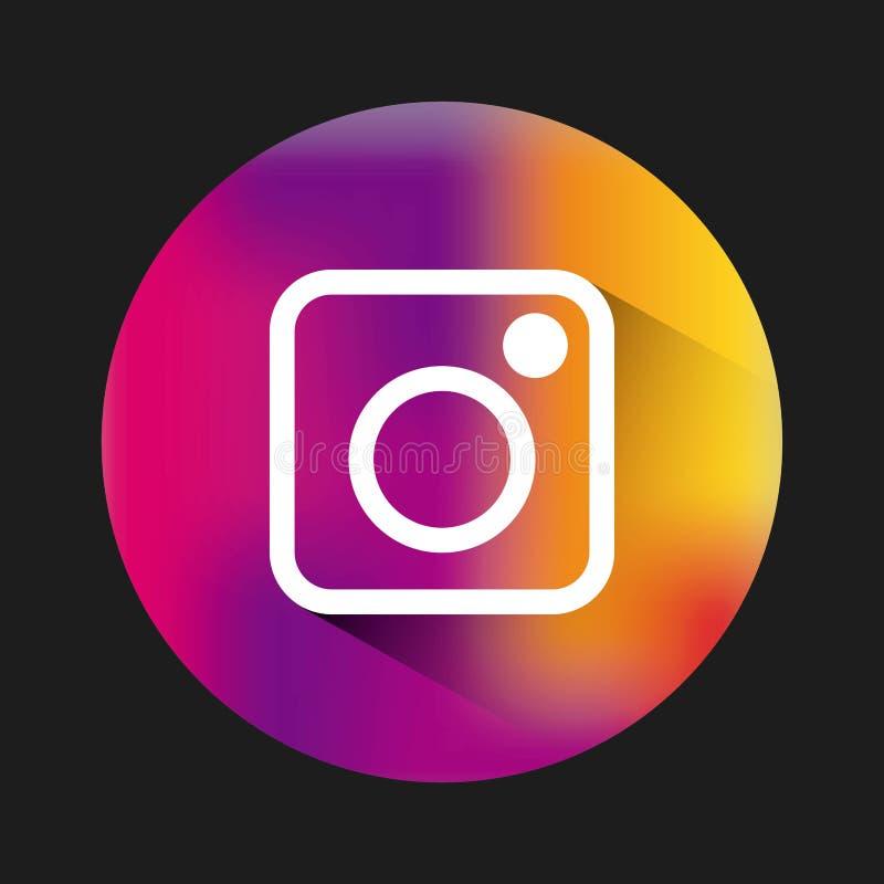 Значок эмблемы Instagram классический бесплатная иллюстрация