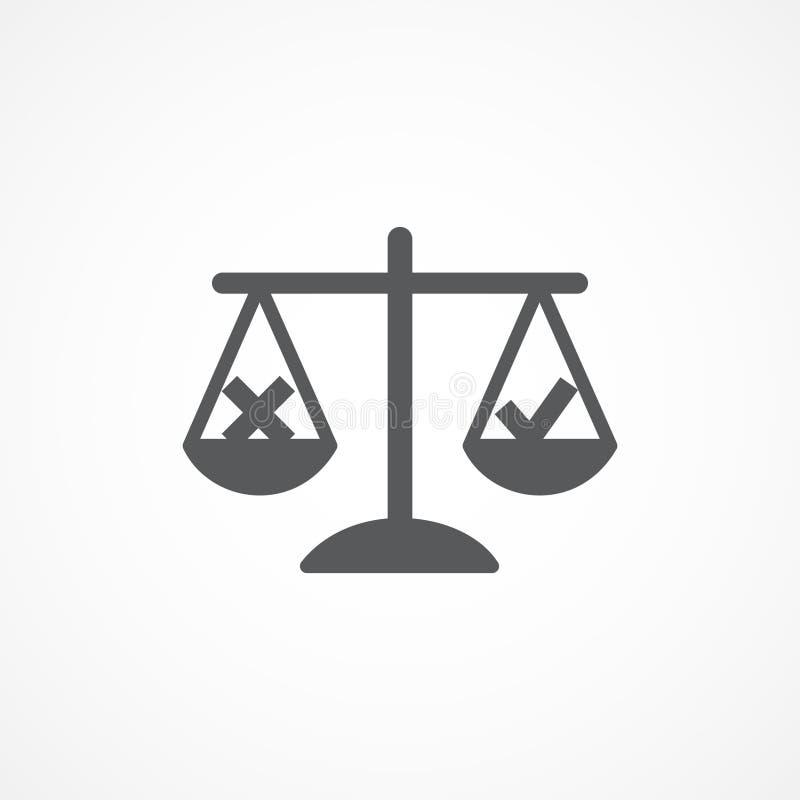 Значок этик иллюстрация штока