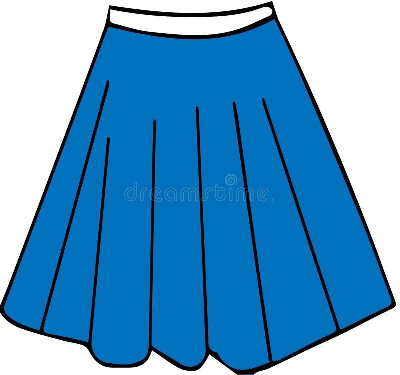 Значок юбки на белой предпосылке иллюстрация вектора