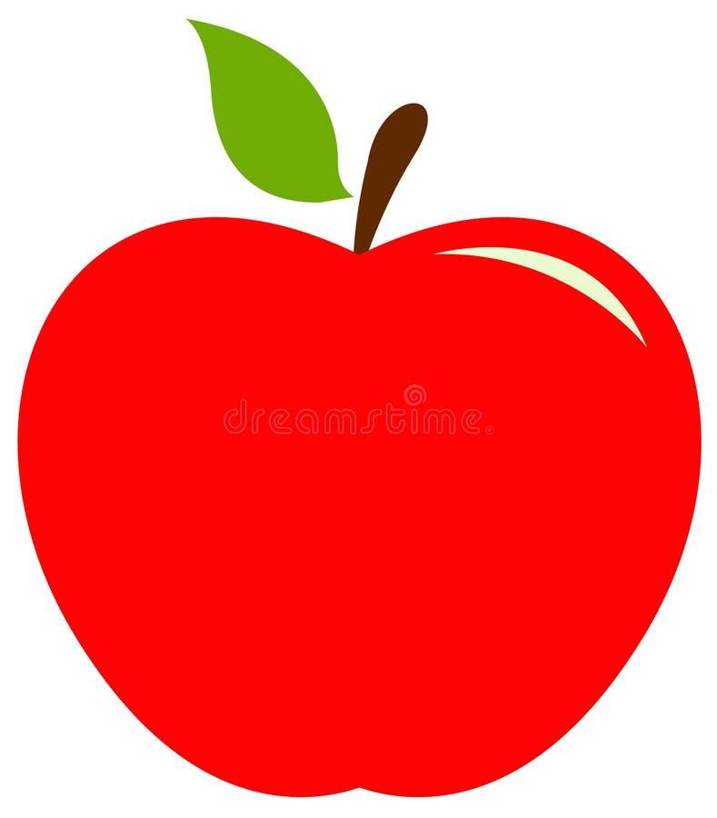 Значок Яблока иллюстрация штока
